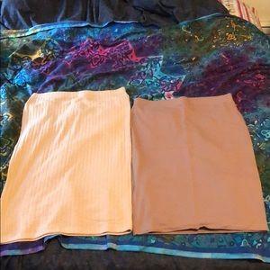 Forever 21 midi skirts